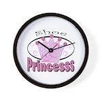 Shoe Princess Wall Clock