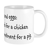 Ham and eggs Mug