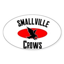 Smallville Crows Oval Decal