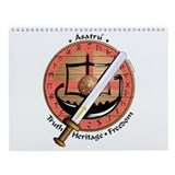 Cute Heritage Wall Calendar