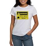 Caffeine Warning Dietary Worker Women's T-Shirt