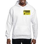 Caffeine Warning Dietary Worker Hooded Sweatshirt
