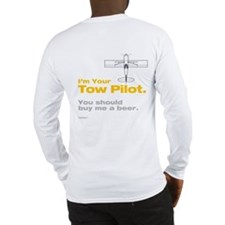 Tow Pilot - Beer: Long Sleeve T-Shirt