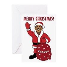 Merry Christmas Obama Greeting Cards (Pk of 10)
