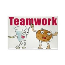 Unique Teamwork Rectangle Magnet (10 pack)