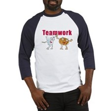 Cute Teamwork Baseball Jersey