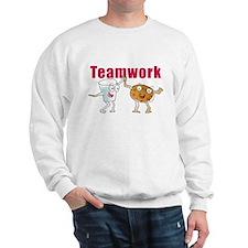 Cute Teamwork Sweatshirt