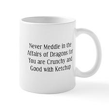 Never Dragons Small Mug