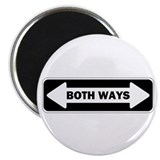 Both Ways 2.25&quot; Magnet (10 pack)