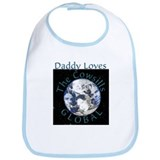 Daddy Loves Global Bib