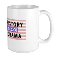 Unique Obama makes history Mug