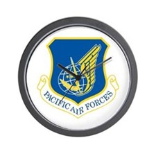 Pacific Air Forces Wall Clock