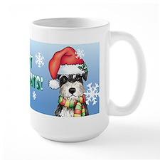 Holiday Miniature Schnauzer Mug