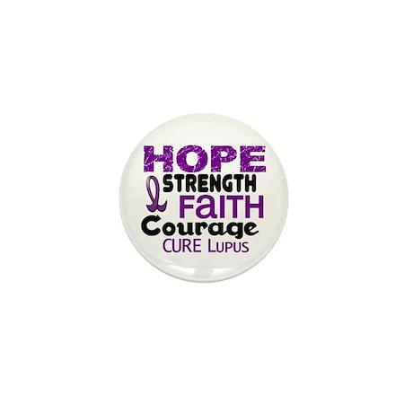 HOPE Lupus 3 Mini Button (10 pack)