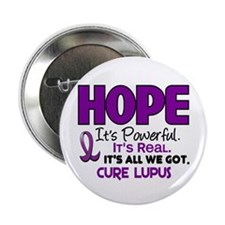 "HOPE Lupus 1 2.25"" Button (10 pack)"