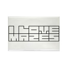 I love mazes Rectangle Magnet (100 pack)