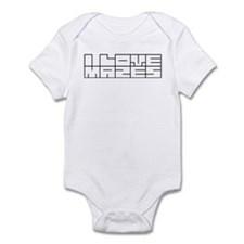 I love mazes Infant Bodysuit