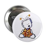 "Luv Bug Westie 2.25"" Button (10 pack)"