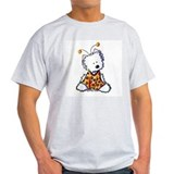 Luv Bug Westie Ash Grey T-Shirt