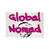 Global Nomad Rectangle Magnet