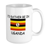 I'd rather be in Uganda Mug