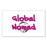 Global Nomad Rectangle Decal