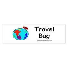 Travel Bug Bumper Bumper Sticker