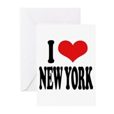I * New York Greeting Cards (Pk of 20)