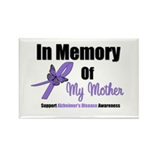 Alzheimer's Memory Mother Rectangle Magnet (10 pac