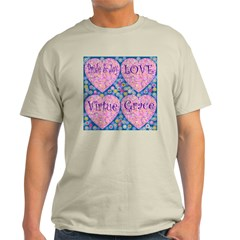 Luminescent Hearts Ash Grey T-Shirt