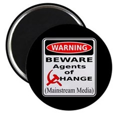 "Agents of Change 2.25"" Magnet (100 pack)"