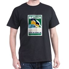 Matson Lines Luggage Label T-Shirt