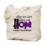 HOPE Alzheimer's Disease 4 Tote Bag