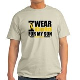 I Wear Gold For My Son T-Shirt