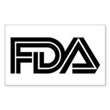 FDA Logo - Rectangle Decal