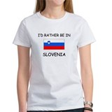 I'd rather be in Slovenia Tee