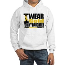 I Wear Gold For My Daughter Hoodie