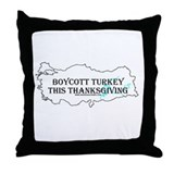 Boycott Turkey This Thanksgiv Throw Pillow