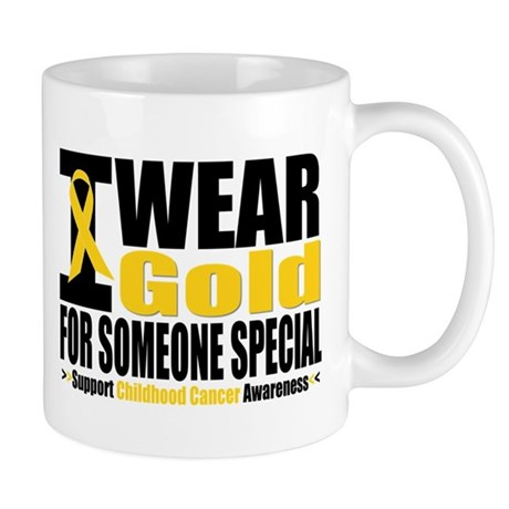 I Wear Gold Someone Special Mug