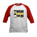 I Wear Gold Ribbon For Me Tee