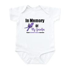 Alzheimer's Memory Grandpa Infant Bodysuit