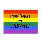 equal rights for everyone Postcards (Package of 8)