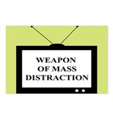 Weapon of Mass Distraction Postcards (Package of 8