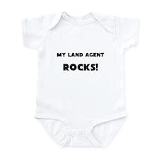 MY Land Agent ROCKS! Infant Bodysuit