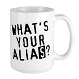 """What's Your Alias?"" Ceramic Mugs"