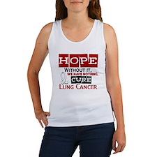 HOPE Lung Cancer 2 Women's Tank Top