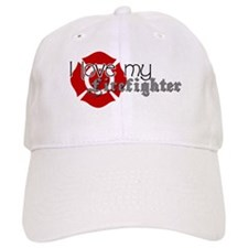 Cute I love my firefighter Baseball Cap