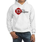 Cute Firefighters girlfriend Hoodie