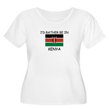 I'd rather be in Kenya T-Shirt