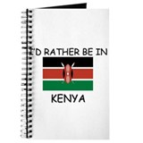 I'd rather be in Kenya Journal
